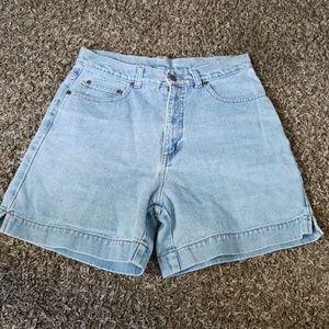 Vintage High Waist Mom Shorts